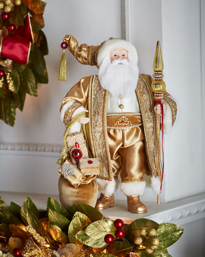 Gold & Glitter Collection Santa, 18