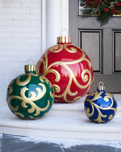 Outdoor Christmas Ornament, Medium