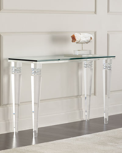 quick look prodselect checkbox christelle acrylic console table
