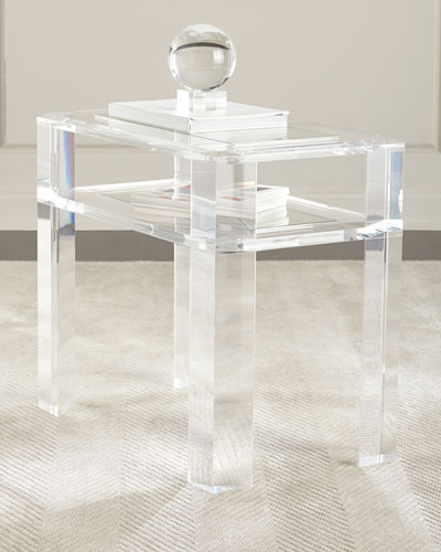 Charmant Quick Look. ProdSelect Checkbox. Landis Acrylic Side Table