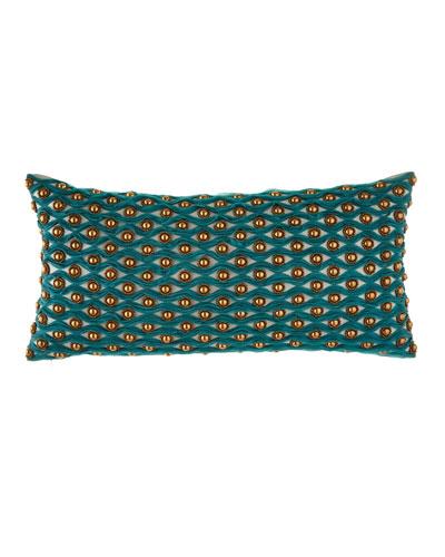 Patra Applique & Beadwork Pillow