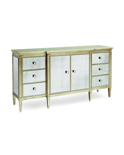 Finest Antiqued Mirrored Bedroom Furniture | horchow.com GT81