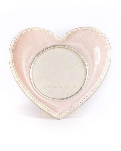 Chantal Heart Frame, Pink