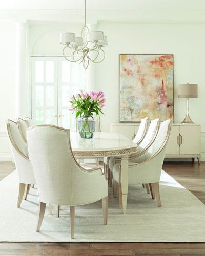 Gabrielle Living Room: Linen Living Room Furniture