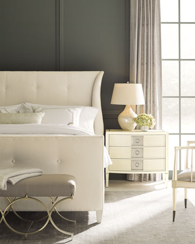 Tufted Bedroom Furniture Quick Look ProdSelect Checkbox Elisse King Tufted Bed Bedroom Furniture F