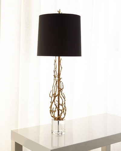 Quick Look. ProdSelect Checkbox. Ingrid Brass Twig Table Lamp