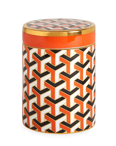 Versailles Carnaby Canister, Orange