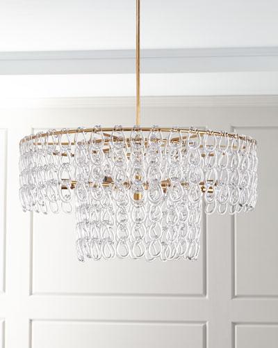 Chain pendant lighting horchow chain pendant lighting aloadofball Image collections