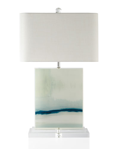 Nice Quick Look. ProdSelect Checkbox. Enigma Printed Canvas Table Lamp