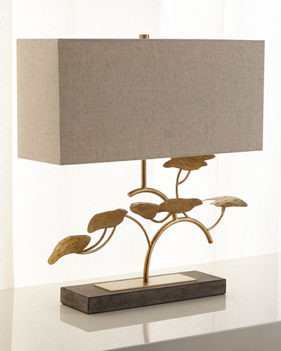 Gold leaf lamp horchow quick look prodselect checkbox gold leaf tree table lamp aloadofball