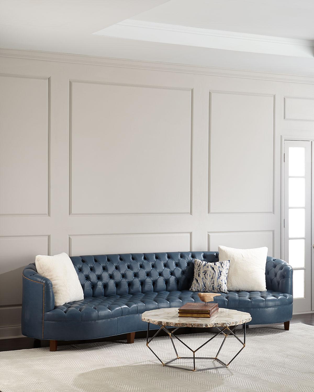 Truffle Leather sofa