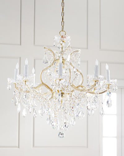 Crystal chandelier lighting horchow crystal chandelier lighting mozeypictures Choice Image
