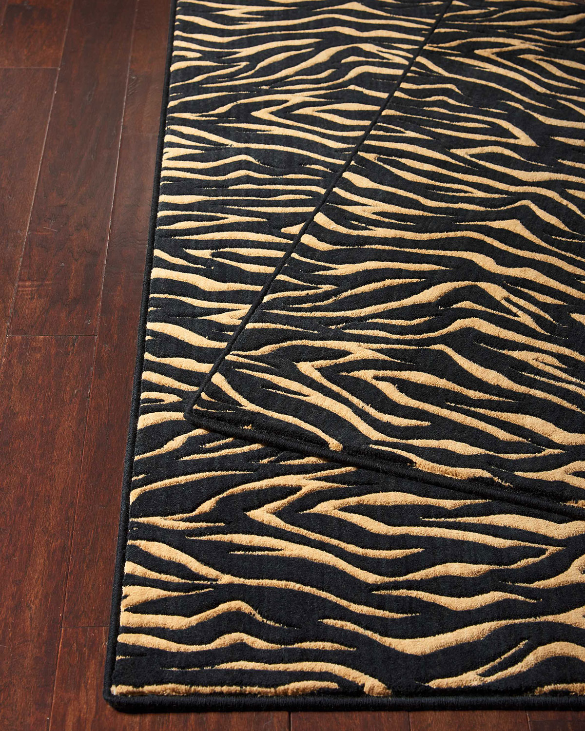 Midnight Tiger Rug, 3' x 5' Product Image