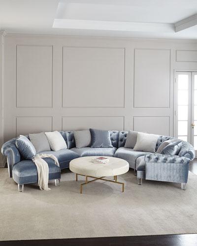 Acrylic Upholstery Sofa Horchow Com