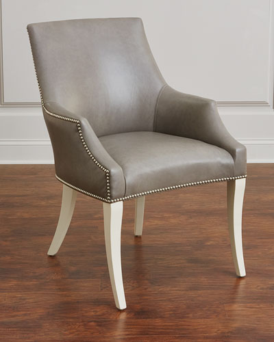 Handcrafted Leather Chair | horchow.com