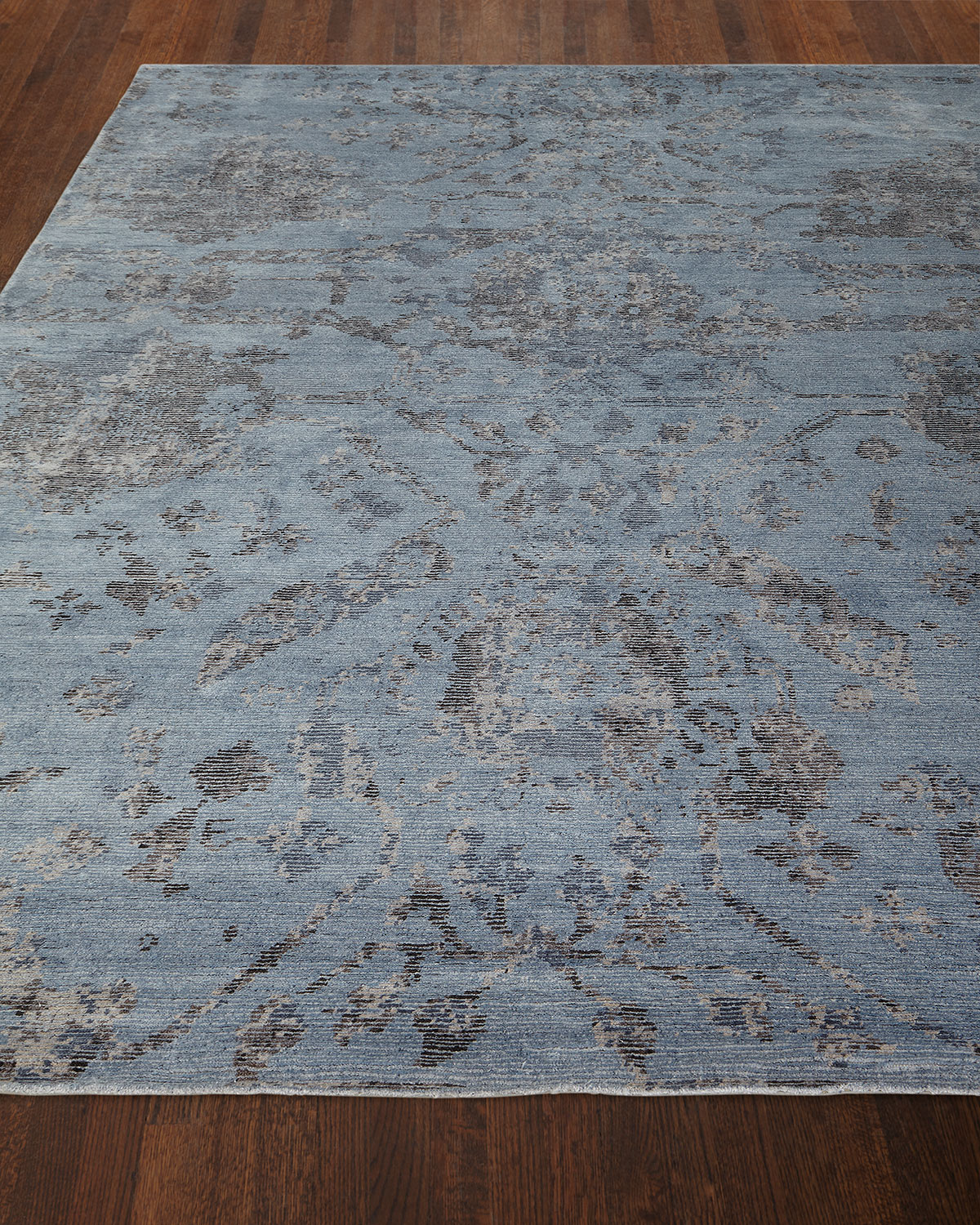 Jubilant Sky Hand-Knotted Rug, 9.9' x 13.9' Product Image
