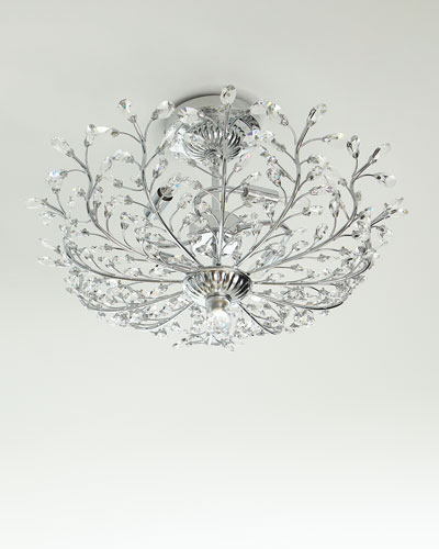 Crystal Ceiling Light Fixture Horchow