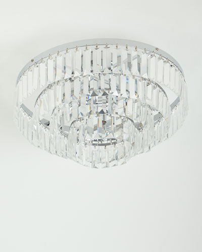 crystal ceiling light fixture