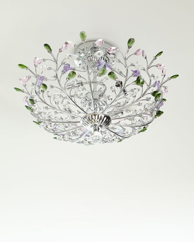 Crystal Ceiling Light Fixture | horchow.com