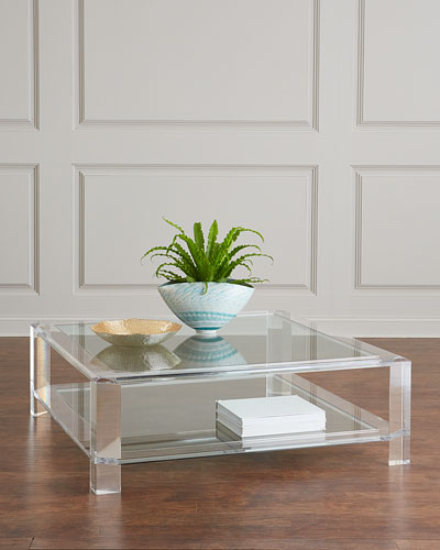 24e168090234 Quick Look. prodSelect checkbox. Landis Acrylic Square Coffee Table