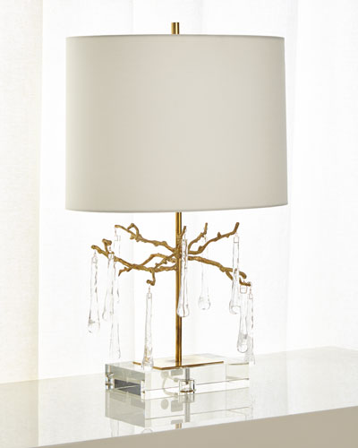 Quick Look. ProdSelect Checkbox. Branched Crystal Table Lamp