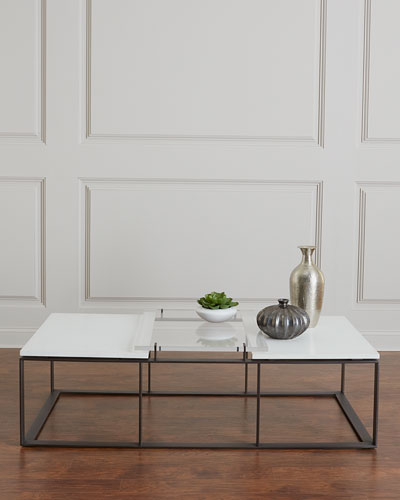Quick Look. ProdSelect Checkbox. Emmeline Metal And Acrylic Coffee Table
