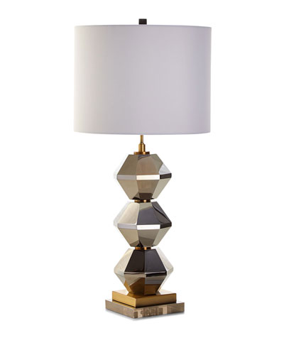 Quick look prodselect checkbox rockefeller faceted crystal table lamp