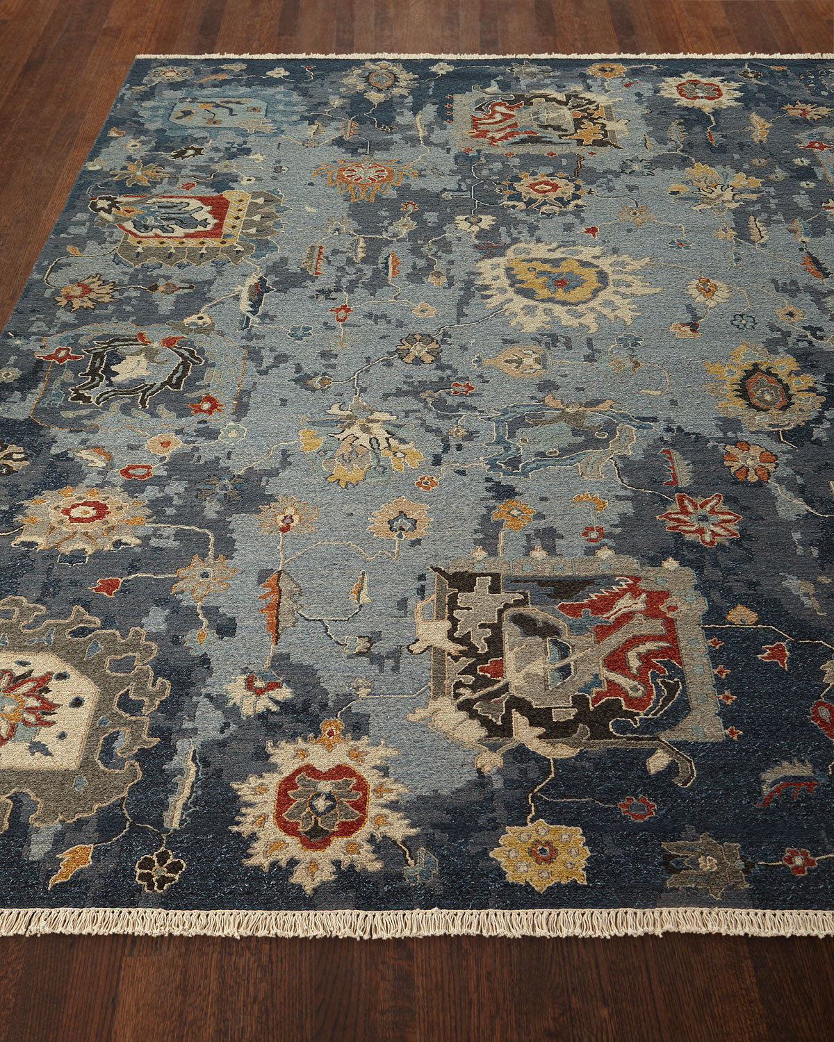 Briley Soumak Weave Hand-Knotted Rug, 6' x 9' Product Image