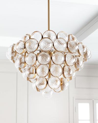 glass chandelier lighting