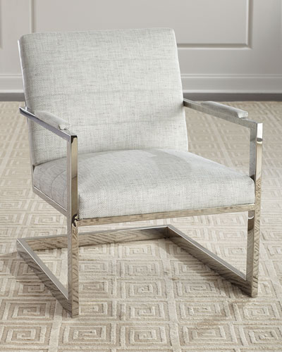 Quick Look. ProdSelect Checkbox. Hyder Stainless Steel Accent Chair