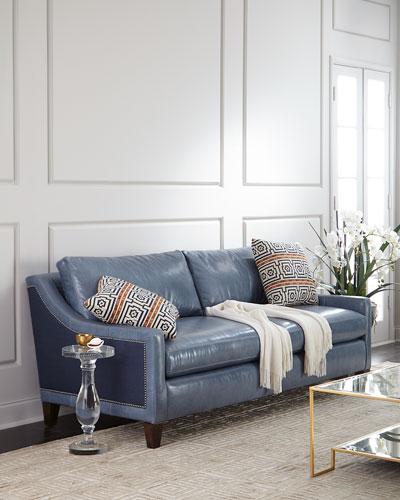 Quick Look. ProdSelect Checkbox. Jaylin Leather Sofa