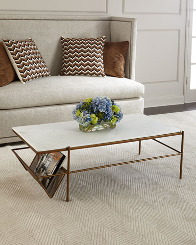 02946cce14b7 Quick Look. prodSelect checkbox. Galinda Marble-Top Coffee Table