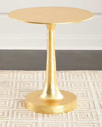 Quick Look. ProdSelect Checkbox. Sasha Gold Leaf Side Table