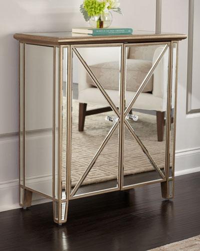 Superbe Accent Mirrored Furniture