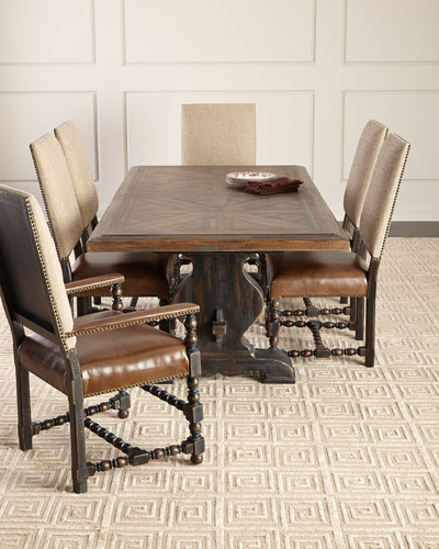 White Assembly Required Dining Table Horchow Com