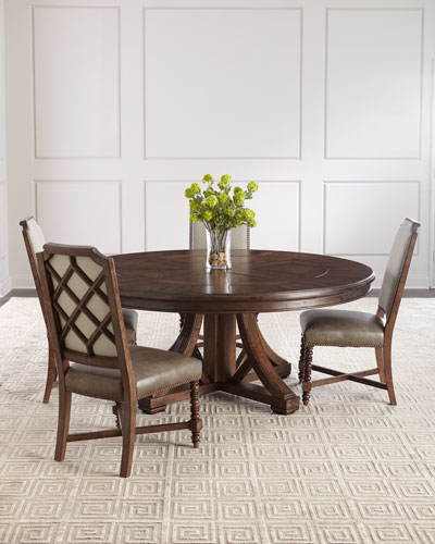 Round Dining Table Furniture Horchow Com