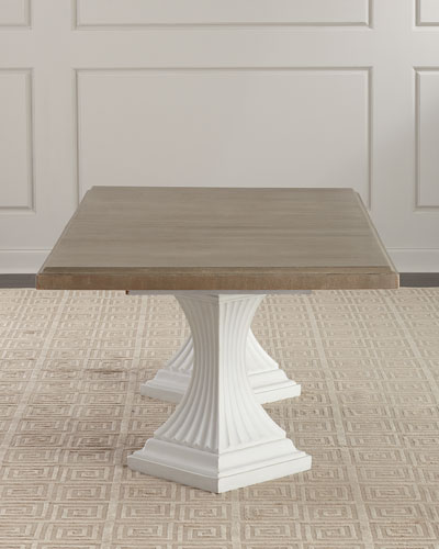 Quick Look. ProdSelect Checkbox. Eleri Double Pedestal Dining Table