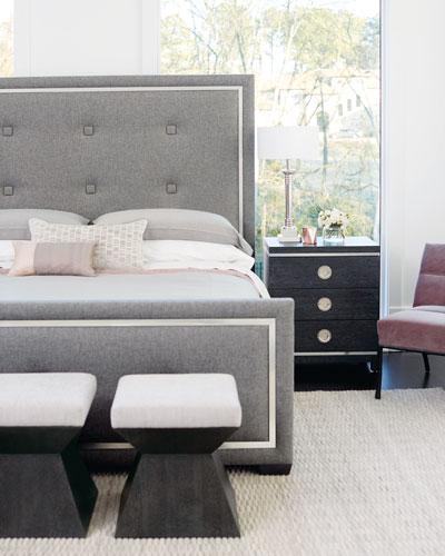 Wood Bedroom Bench | horchow.com