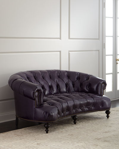 Quick Look Prodselect Checkbox Iolanthe Tufted Leather Sofa