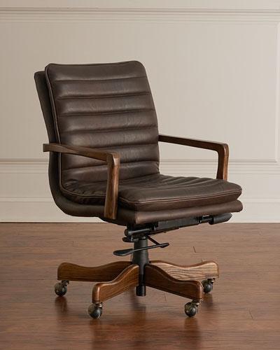 Top Grain Leather Chair Horchow Com