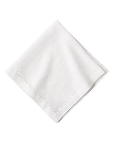 White Linen Dinner Napkins