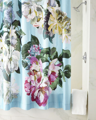 3823d8190da Quick Look. prodSelect checkbox. Delft Flower Sky Shower Curtain