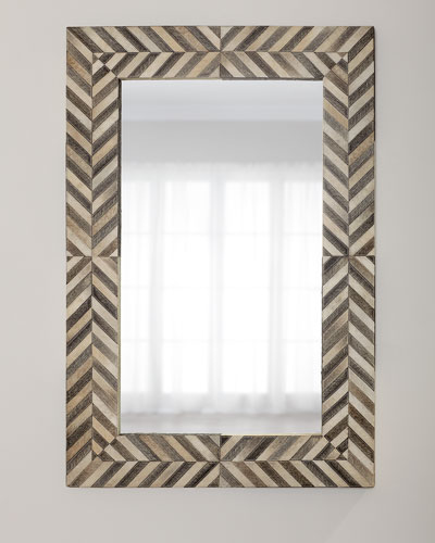 b1594d0c0f51 Quick Look. prodSelect checkbox. Hair on Hide Framed Mirror ·  1