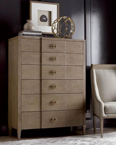 Hardwood Drawer Chest   horchow com