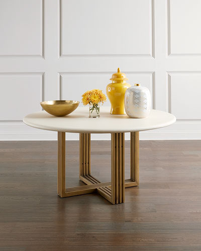 Round Assembly Required Dining Table Horchow Com