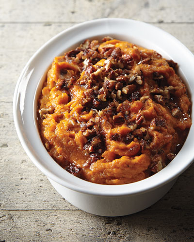 Sweet Potatoes with Praline Pecans