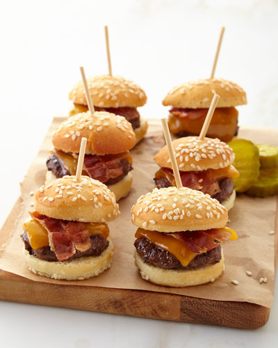 Mini Cheeseburger Bites, For 9 People