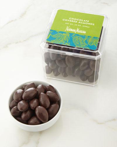 Dark Chocolate-Covered Almonds
