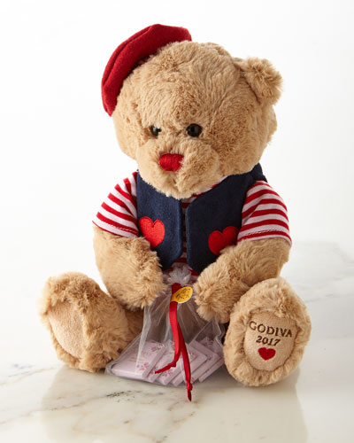 Valentine's Day 2017 Plush Bear and Chocolates