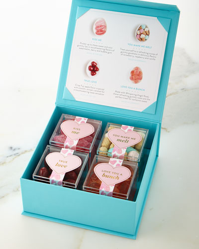 4-Piece Candy-Filled Valentine's Day Gift Box